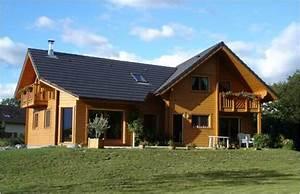 maisons ossature bois bbc With plans de maison en l 6 maison mobile en bois arkko