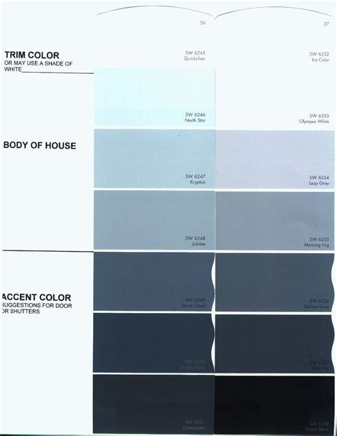 sherwin williams morning fog exterior color of house white trim black shutters house