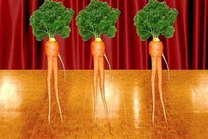 Dancing Carrots Vegetables Dance Root Giphy Tops