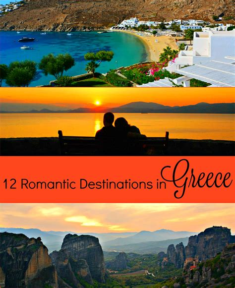 12 gorgeous and romantic destinations in greece travel