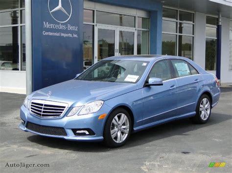 2011 Mercedes-benz E 350 Sedan In Quartz Blue Metallic