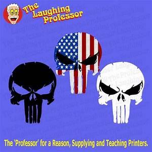 Punisher Skull  Vector Artwork Zip Download File