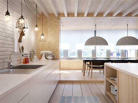 chaises cuisine fly cuisine blanche 20 idées déco pour s 39 inspirer deco cool