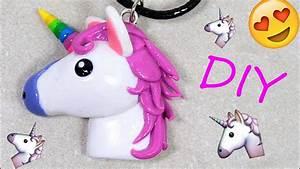 Unicorn Emoji Polymer Clay Tutorial