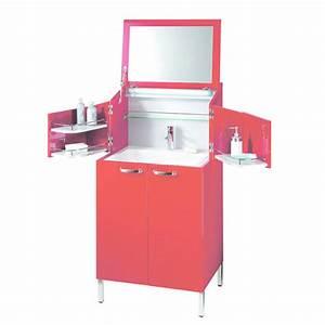 Coiffeuse Salle De Bain : meuble pour salle de bains de type coiffeuse la malle ~ Teatrodelosmanantiales.com Idées de Décoration
