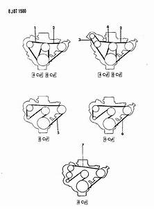 1990 Jeep Cherokee Serpentine Belt Diagram