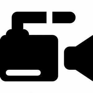 Video camera side view Icons | Free Download