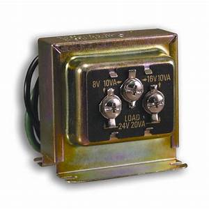 Heath Zenith Wired Door Chime Transformer-dw-125