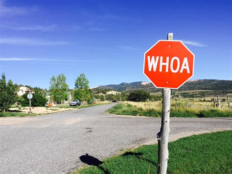 Whoa Check Out The Stop Signs In This Small Utah Town