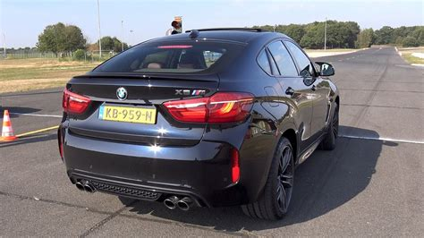 Bmw X6m F86 575 Hp 44l V8 Twin Turbo Exhaust Sounds