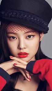 Hp37 Blackpink Girl Kpop Jennie Wallpaper