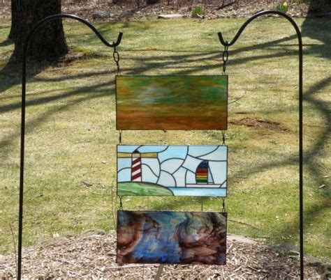 stained glass projects for outdoors stained glass garden project stained glass garden pots outdoors