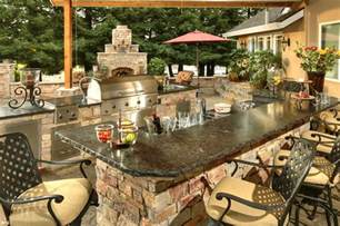 outside kitchen ideas outdoor kitchen idea gallery galaxy outdoor