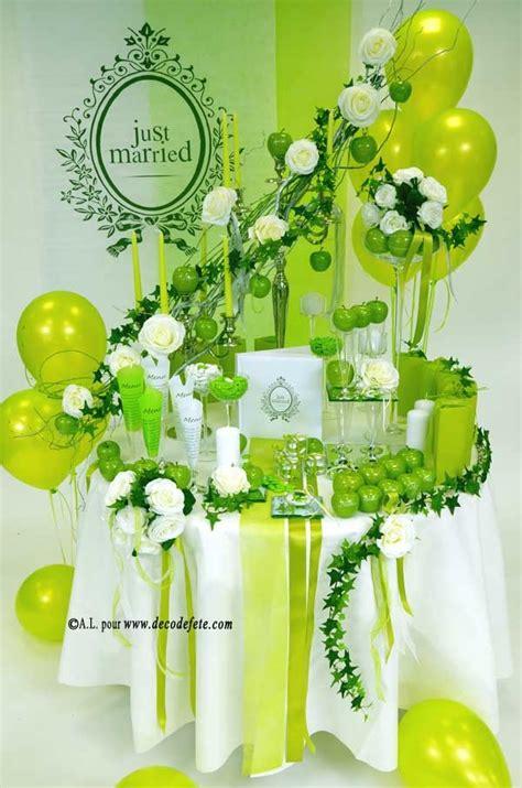 8 best d 233 co de table en blanc vert anis images on colors communion and cubes