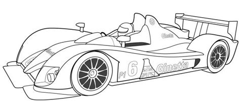 racing car coloring page cars coloring pages sports