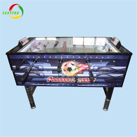 newest automatic football table coin pusher machine