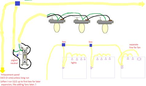 Electrical Best Way Wire Multiple Lights
