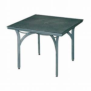 Table Carre Exterieur : tables de jardins tous les fournisseurs table de jardin plastique table de jardin en bois ~ Teatrodelosmanantiales.com Idées de Décoration