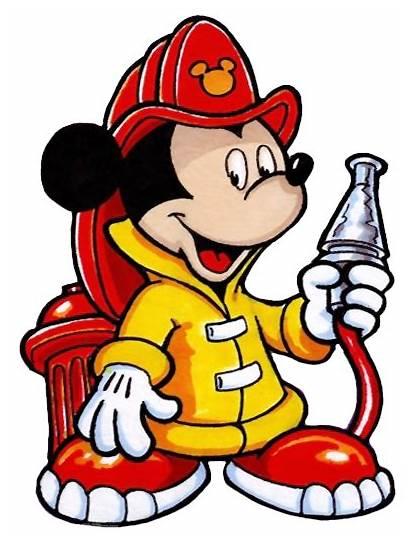 Clipart Fireman Clip Firefighter Mouse