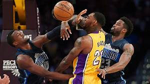 Without Nowitzki, Mavericks hold off Lakers for win | 15 ...