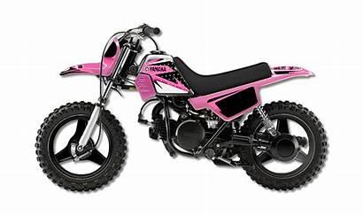 Pink Pw50 Graphics Yamaha Seat Plastic Fuel