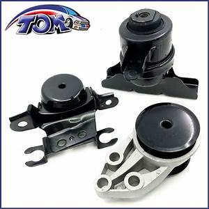 Brand New Set Of Engine Motor  U0026 Trans Mounts For Ford