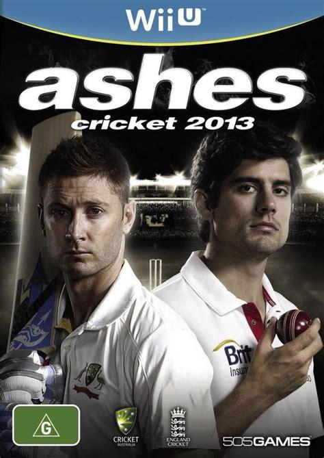 ashes cricket 2013 box for wii u gamefaqs