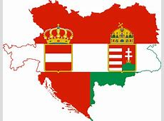 FileFlag map of the AustroHungarian Empire civil ensign