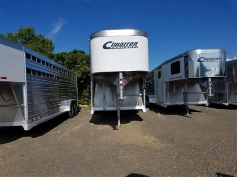 price reduction cimarron trailers  gn