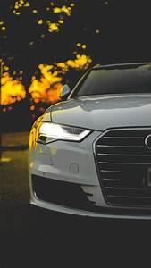 壁纸 奥迪白色汽车正面图,车灯 3840x2160 UHD 4K 高清壁纸, 图片, 照片