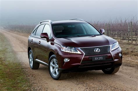 lexus rx australias  entry level luxury suv