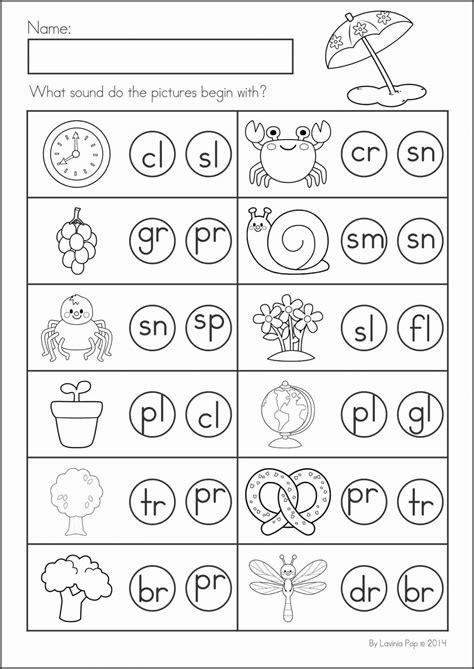 letter blends worksheets kindergarten letter best free