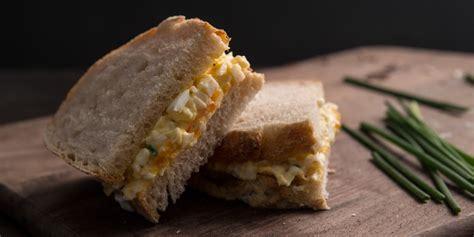 perfect egg mayo sandwich recipe great british chefs