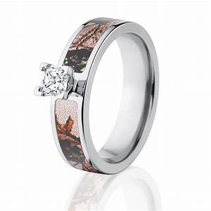 pink camo diamond engagement rings licensed mossy oak With pink mossy oak wedding rings