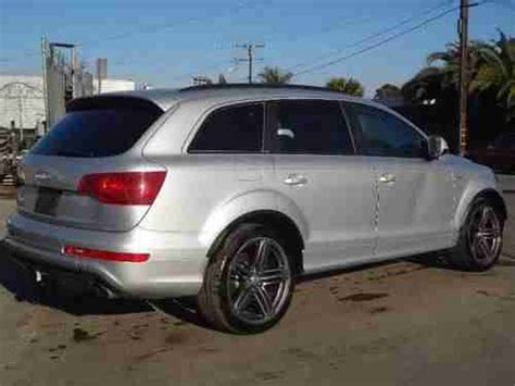 Find Used 2012 Audi Q7 3.0 S Line Prestige Quattro Damaged