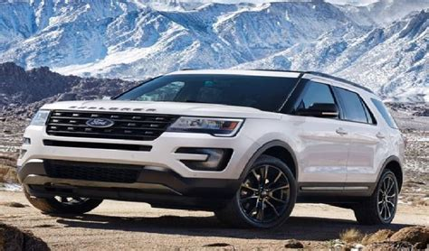 2020 ford explorer sports 2020 ford explorer redesign and rumor car rumor ford