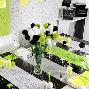 Deco Vert Anis : decoration de table gris et vert anis ~ Teatrodelosmanantiales.com Idées de Décoration