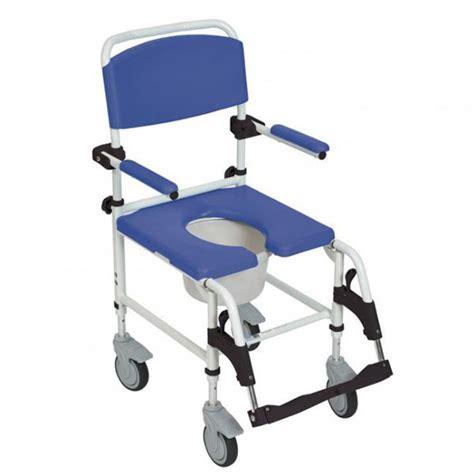 drive aluminum rehab shower commode chair bathroom