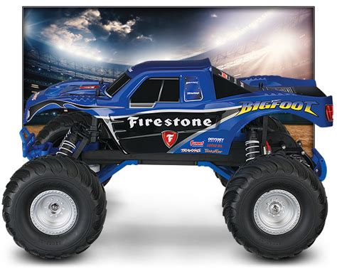 firestone bigfoot monster truck bigfoot 1 10 scale officially licensed replica monster