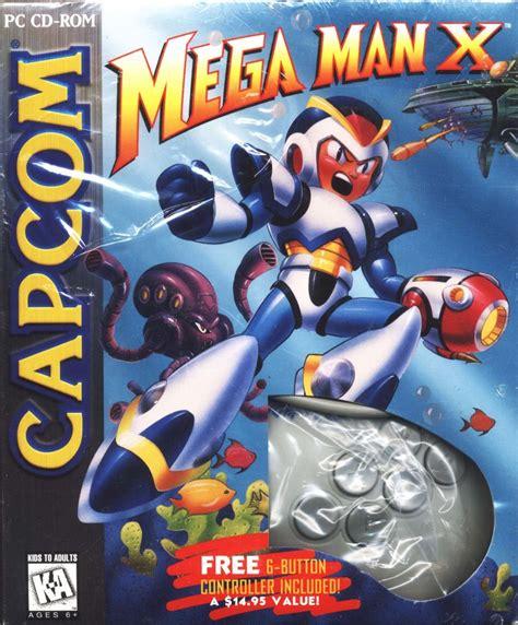 Mega Man X 1995 Dos Box Cover Art Mobygames