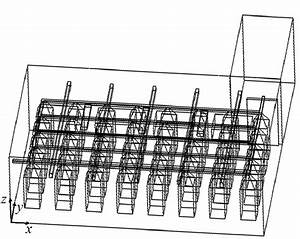 Layout Of The Studied Cold Room