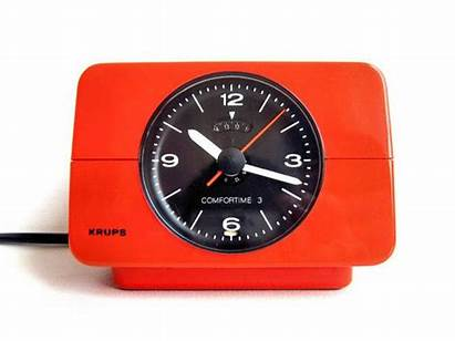 Clock Alarm Orange Krups