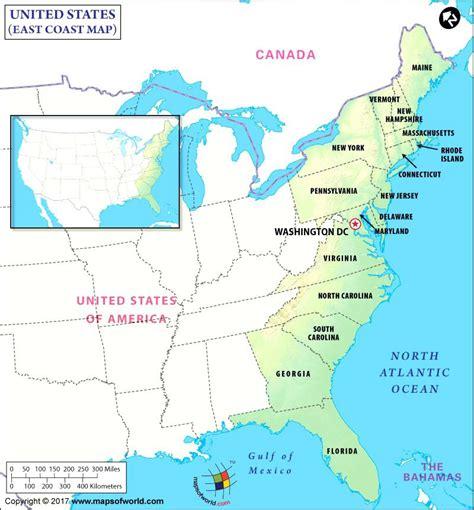 map of florida east coast east coast of map florida east