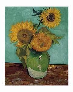 Sunflowers, First Version Art Print by Vincent van Gogh ...