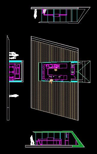 Kiosk  Ice Cream DWG Block for AutoCAD ? Designs CAD