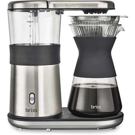 This cuisinart pour over coffee maker is scaa certified, meaning it meets their requirements for an exemplary home brewer so you know with this machine. Brim 8-Cup Coffee Maker & Reviews   Wayfair