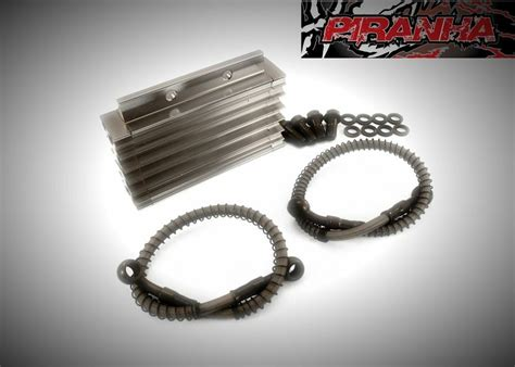 Oil Cooler Silver For Lifan Style Engines Pit Bike