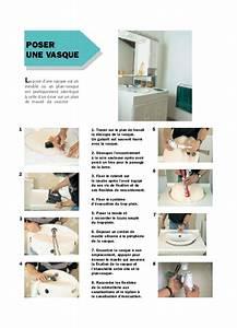 Comment Poser Un Plan De Travail : comment fixer une vasque sur un plan de travail maison ~ Dailycaller-alerts.com Idées de Décoration