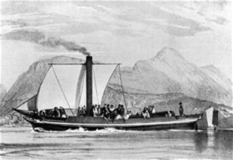 Barco A Vapor Primeiro by Druid