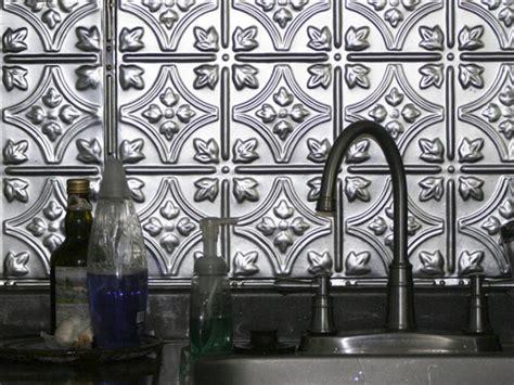 decorative backsplashes kitchens backsplash ideas inspiring metal tiles backsplash peel